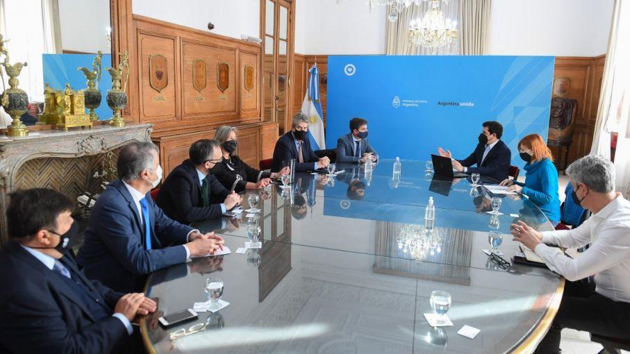 El Consejo Agroindustrial Argentino se reunió con el Ministro Wado De Pedro