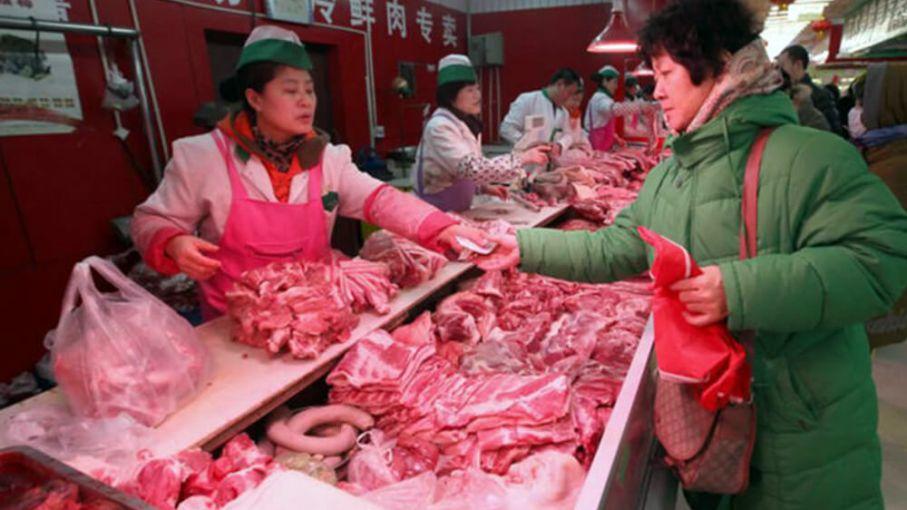 Los carniceros Chinos piden a los exportadores que desinfecten los envíos para prevenir el COVID-19