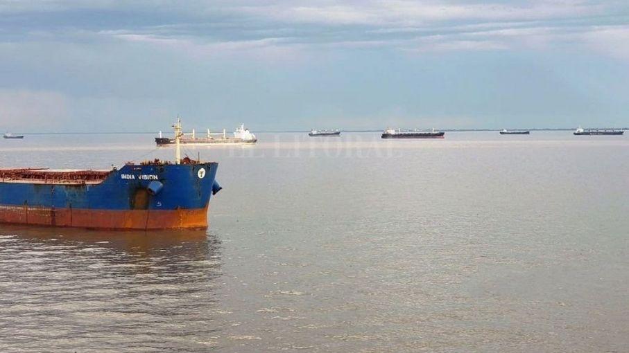 La Administración General de Puertos tomó el control de la Hidrovía