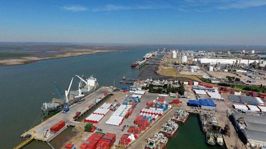 Descargaron 263.040 toneladas de granos en las terminales portuarias bahienses