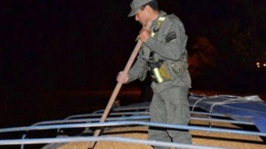 Decomisan más de 70 toneladas de maíz en Corrientes