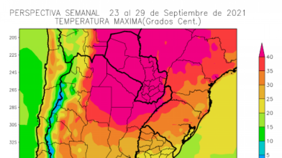 Perspectiva agroclimatica semanal